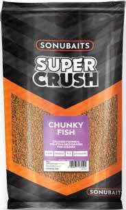 Sonubaits Super Crush Chunky Fish - Grundfutter - 2kg