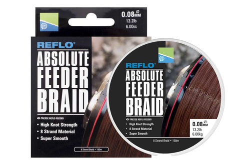 Preston Reflo Absolute Feeder Braid - Schnur
