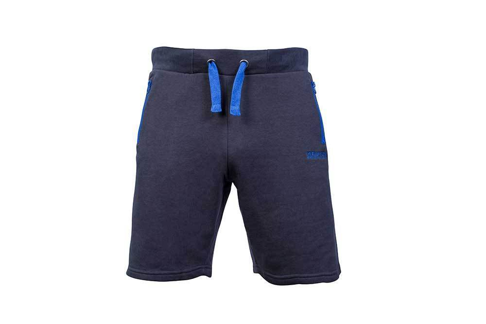 Preston Navy Jogger Shorts