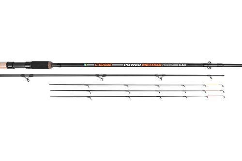 Preston C-Drome Power Method Feeder Rod -  3,3m - Rute