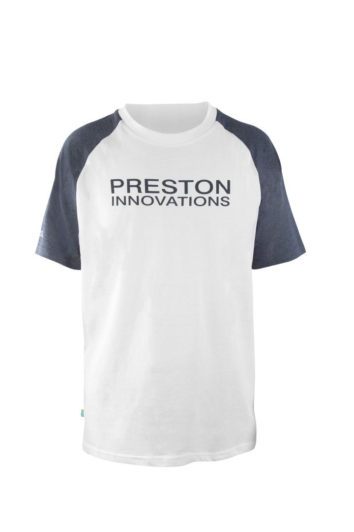 Preston T-Shirt - White/Grey