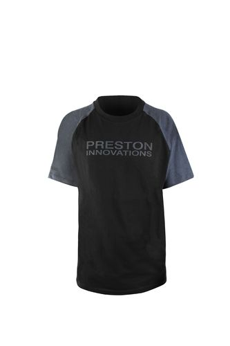 Preston T-Shirt - Black/Grey