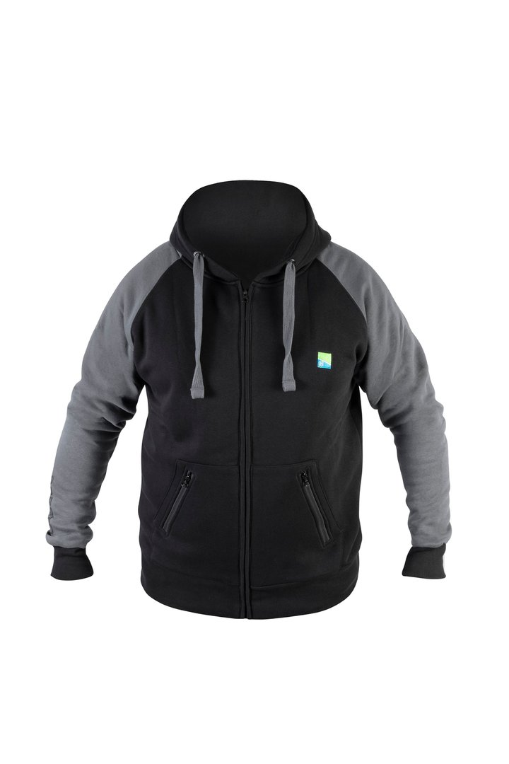 Preston Celsius Zip Hoodie - Black